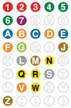 subway letters
